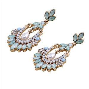 Chandelier Rhinestone Earrings